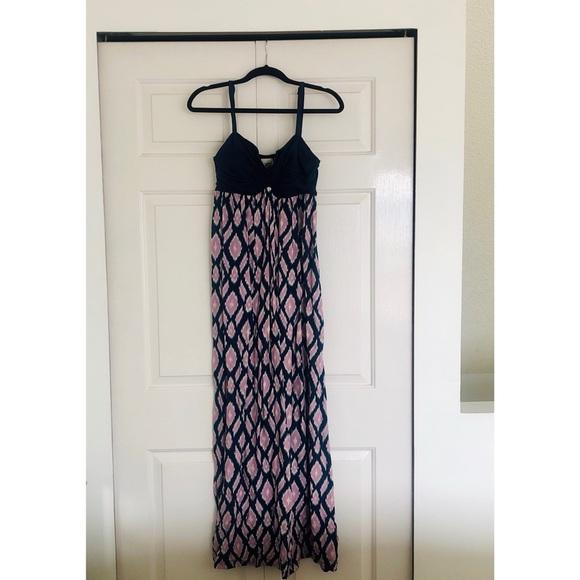 Anthropologie maxi summer dress